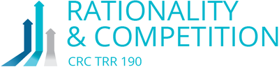 "CRC/ Transregio 190  ""Rationality and Competition: The Economic Performance of Individuals and Firms"""